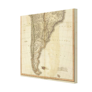 South America south Canvas Print