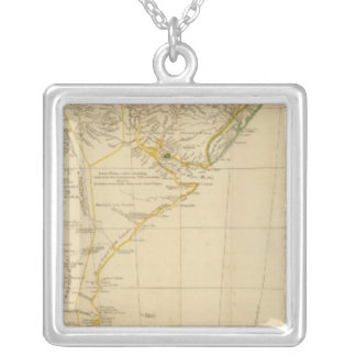 South America south Silver Plated Necklace
