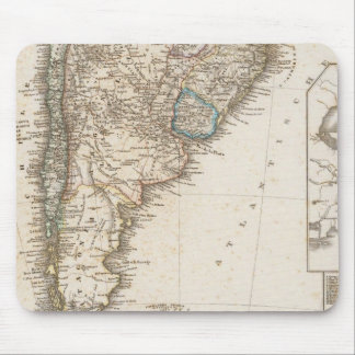 South America southern region Mouse Mat
