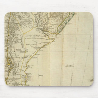 South America Southern Section Mouse Mat
