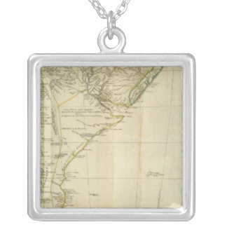 South America Southern Section Silver Plated Necklace