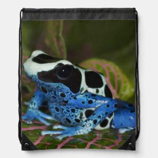 South America, Surinam. Close-up of Patricia Drawstring Bag