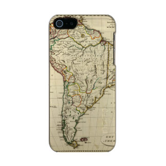 South America with boundaries outlined Incipio Feather® Shine iPhone 5 Case