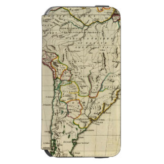South America with boundaries outlined Incipio Watson™ iPhone 6 Wallet Case