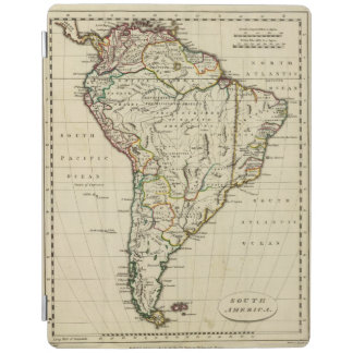South America with boundaries outlined iPad Cover