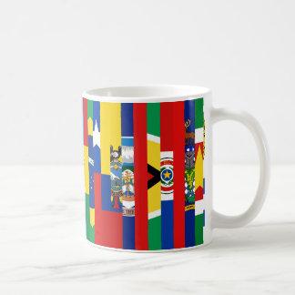 South American Flags Mug