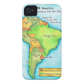 South American Independence iPhone 4 Case-Mate Case