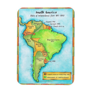 South American Independence Magnet