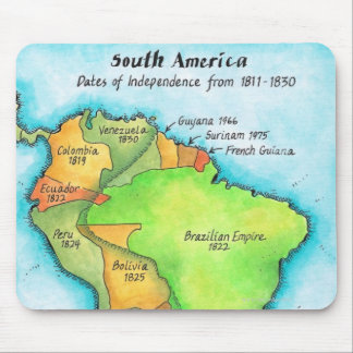 South American Independence Mouse Pad