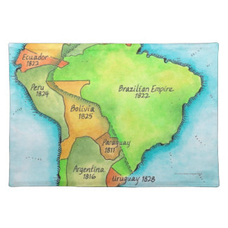 South American Independence Placemat