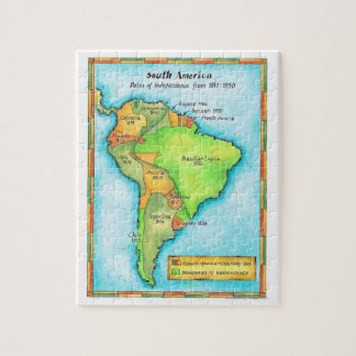 South American Independence Puzzle