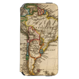 South American Map Incipio Watson™ iPhone 6 Wallet Case