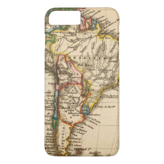 South American Map iPhone 8 Plus/7 Plus Case