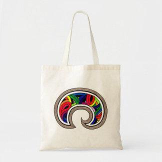 South American Rainbow Tote Bag