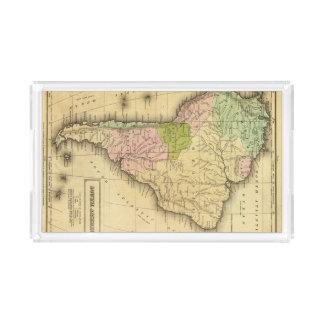 South AmericaOlney Map Acrylic Tray