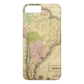 South AmericaOlney Map iPhone 8 Plus/7 Plus Case