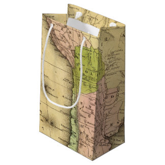 South AmericaOlney Map Small Gift Bag