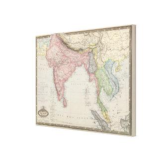 South Asia 2 Canvas Print