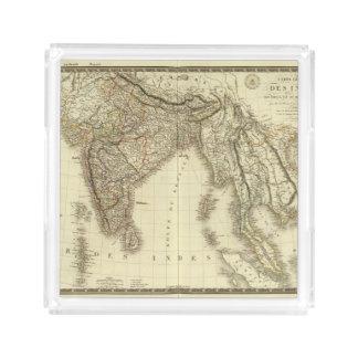 South Asia Acrylic Tray