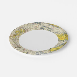 South Asia, India, Bangladesh 7 Inch Paper Plate