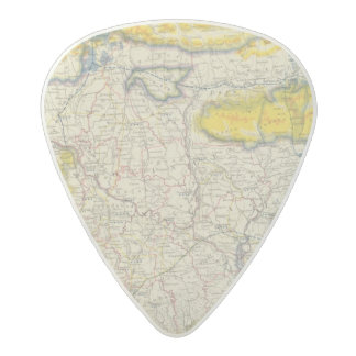 South Asia, India, Bangladesh Acetal Guitar Pick