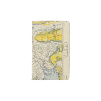 South Asia, India, Bangladesh Pocket Moleskine Notebook