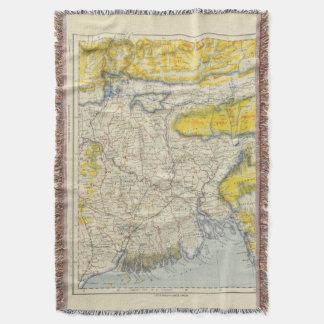 South Asia, India, Bangladesh Throw Blanket
