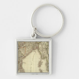 South Asia Key Ring