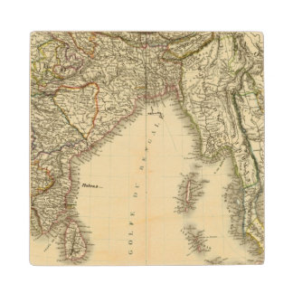 South Asia Wood Coaster