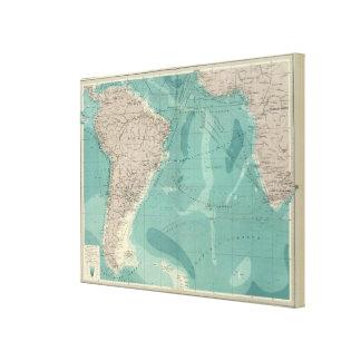 South Atlantic Ocean Canvas Print