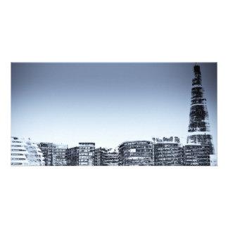 South Bank London Art Personalised Photo Card