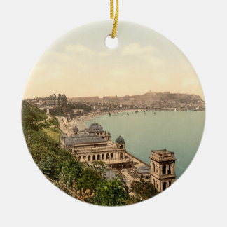 South Bay, Scarborough, Yorkshire, England Christmas Ornament