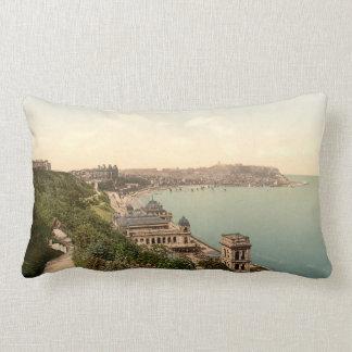 South Bay, Scarborough, Yorkshire, England Lumbar Cushion