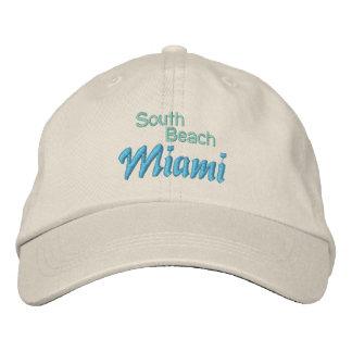SOUTH BEACH 1 cap Embroidered Cap