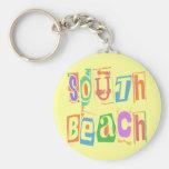 SOUTH BEACH KEYCHAINS