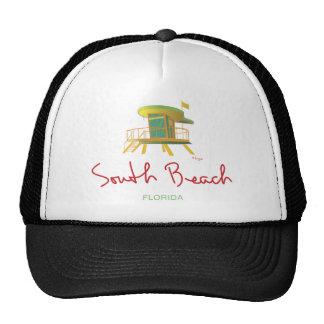 South Beach Lifeguard Station Trucker Hat