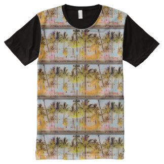 SOUTH BEACH MIAMI All-Over PRINT T-Shirt