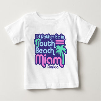 South Beach Miami Baby T-Shirt