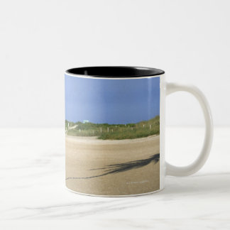 South Beach, Miami Beach, Florida, USA Two-Tone Coffee Mug