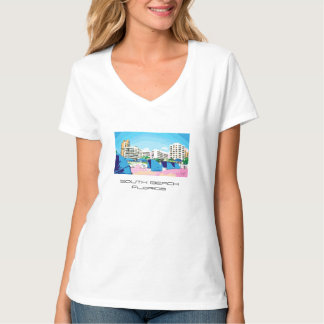 SOUTH BEACH, MIAMI, FLORIDA T-shirt