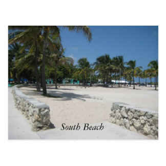 South Beach, Miami Postcard
