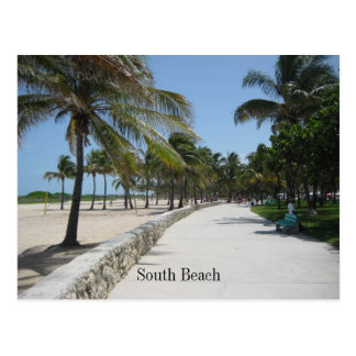 South Beach Post 1 Postcard