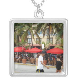 South Beach Silver Plated Necklace