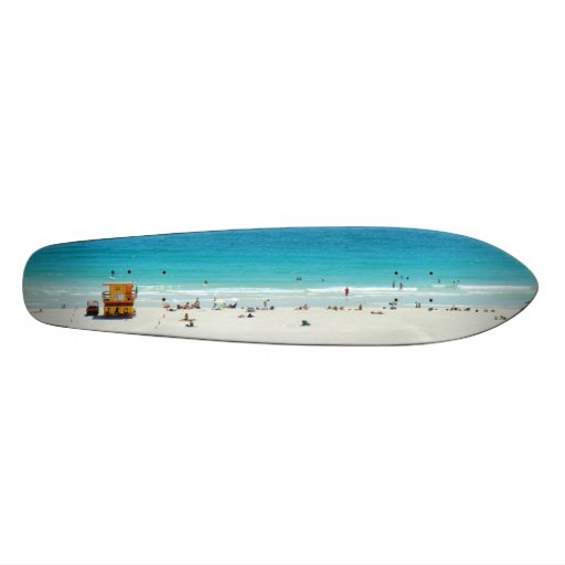 ~South Beach~ South Beach Cruiser Skate Board Deck
