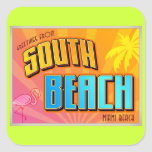 SOUTH BEACH SQUARE STICKER