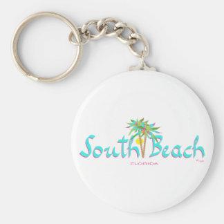 South Beach Sun Miami Key Ring