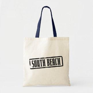 South Beach Title Tote Bag
