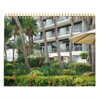 South Beach Wall Calendar