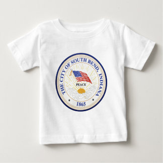 South Bend Indiana Seal Baby T-Shirt