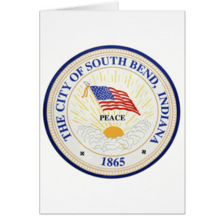 South Bend Indiana Seal Card